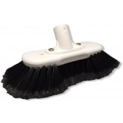 Autobørste sorte rilsan hår, ridsefri og fyldig