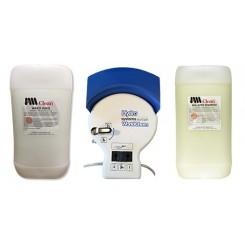 Doseringsvaskeanlæg m/ 2 x 20 ltr.  Rengøringsvæsker