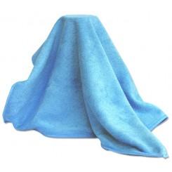 Mikrofiberklud, polering blå