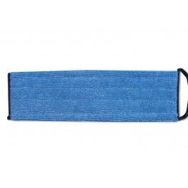 Microfiber moppe fugt 40 cm, Blå